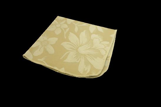 Guardanapo creme floral