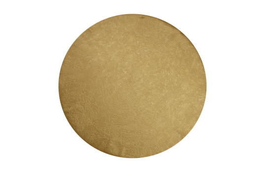 Sousplat dourado